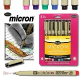 Micron Bible Journaling Pen Set, Pack of 8