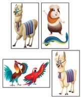 Passport to Peru VBS: Giant Bible Memory Buddy Posters, 4 pack
