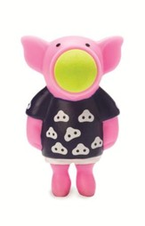Pig Popper Key Chain