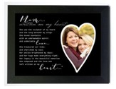 Mom, Written on My Heart Photo Frame