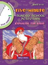Download 5 Minute Sunday School Activities - Exploring the Bible - PDF Download [Download]