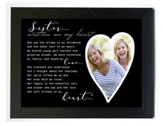 Sister -Written on My Heart Photo Frame