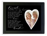 Friend - Written on my Heart Photo Frame