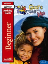 God's Word and Me Beginner (ages 4 & 5) Activity Book