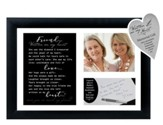 Friend, Written on My Heart Photo Frame with Writing Keepsake