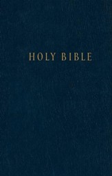 NLT Pew Bible, Blue Hardcover