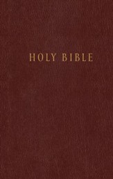 NLT Pew Bible, Hardcover Burgundy