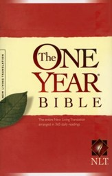NLT One Year Bible Softcover