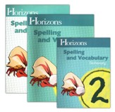 Horizons Spelling & Vocabulary 2, Complete Set