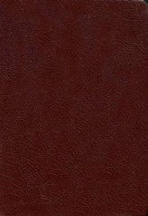 NLT Slimline Reference Bible - Bonded Burgundy - Imperfectly Imprinted Bibles