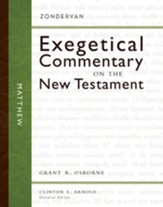 Matthew: Zondervan Exegetical Commentary on the New Testament [ZECNT]-eBook