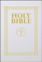 Douay Rheims First Communion Bible