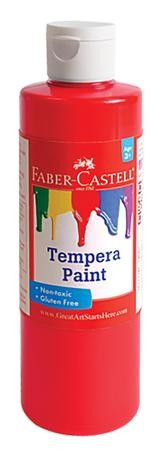 Tempera Paint, Red