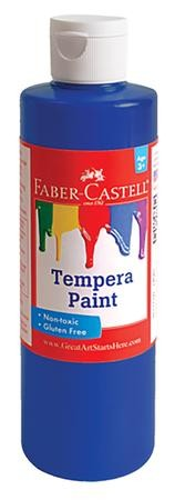 Tempera Paint, Blue