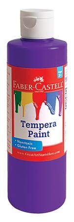 Tempera Paint, Purple