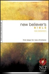 NLT New Believer's New Testament - softcover edition - Slightly Imperfect