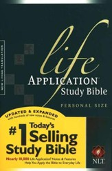 NLT Life Application Study Bible 2nd Edition, Personal Size