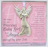 Baby Girl, Always An Angel Ornament