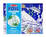 Animals, Foil Coloring Pad