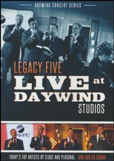 Legacy Five Live at Daywind CD/DVD