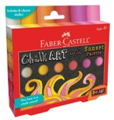 Do Art Outdoor Chalk Art Refill-Sunset Palette