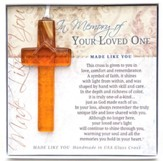 In Memory Of Your Loved One Cross Ornament