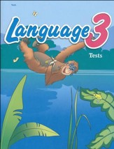 Abeka Language 3 Student Test Book