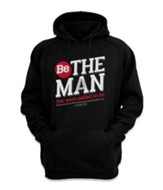 Be the Man Sweatshirt, Black, XX-Large