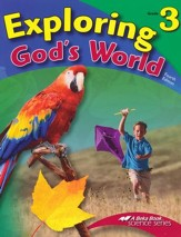 Abeka Exploring God's World Grade 3, Fourth Edition