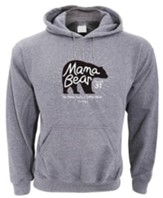 Mama Bear, Hooded Sweatshirt, Gray, X-Large