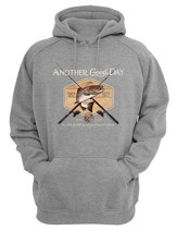 Another Good Day, Hooded Sweatshirt, Gray, XX-Large