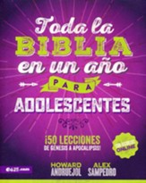 Toda la Biblia en un año para adolescentes  (The Bible in One Year for Teens)