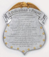 A Policeman's Prayer Stepping Stone