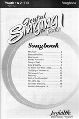 Joyful Singing for Teens #1 Songs