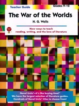 War of the Worlds, Novel Units  Teacher's Guide, Grades 9-12