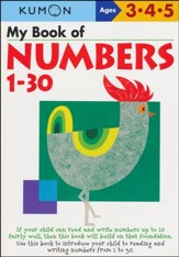 Kumon My Book of Numbers 1-30, Ages 3-5