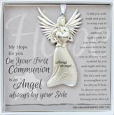 First Communion, Always An Angel Ornament