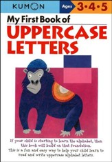 Kumon My First Book of Uppercase Letters, Ages 3-5