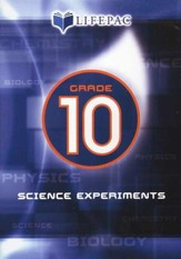 Lifepac Science Grade 10: Science Experiments on DVD