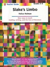 Slake's Limbo, Novel Units Teacher's Guide, Grades 5-6