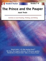 The Prince and the Pauper, Novel Units Student Packet, Grades 7-8