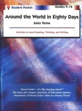 Around the World in 80 Days, Novel  Units Student Packet, Gr. 9-12