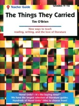 The Things They Carried, Novel Units Teacher's Guide, Grades 9-12