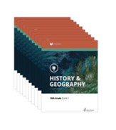 Lifepac History & Geography Workbook Set, Grade 10