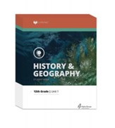 Lifepac History & Geography Workbook  Set, Grade 12