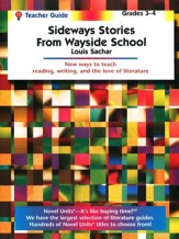 Sideways Stories from Wayside School, Novel Units Teacher's Gd 3-4