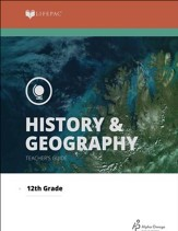 Lifepac History & Geography Teacher's Guide, Grade 12