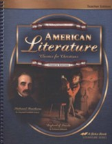 Abeka American Literature: Classics  for Christians  Teacher Edition, Fourth Edition