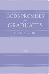 NIV God's Promises for Graduates, Class of 2018, Lavender