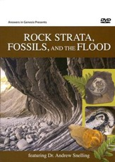 Rock Strata, Fossils, and the Flood DVD